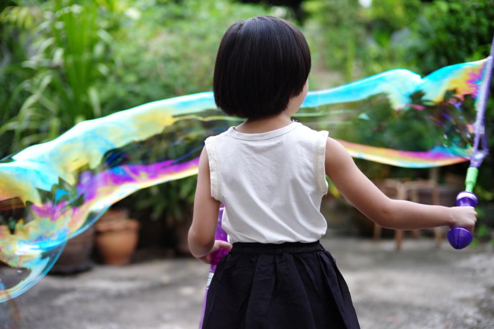 bulle geante pour anniversaire enfant ete