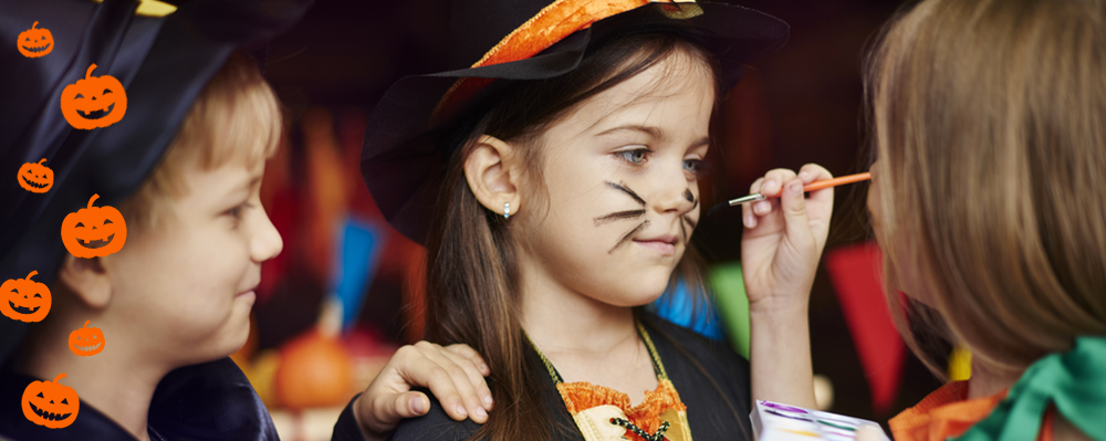 maquillage enfants halloween alsace